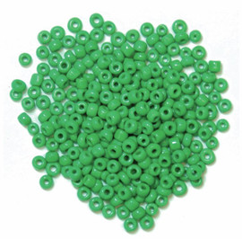 Extra Value Seed Beads Green 30g by Trimits