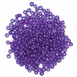 Extra Value Seed Beads Purple 30g by Trimits