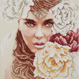 Enchanting Eyes Diamond Painting Kit by Lanarte