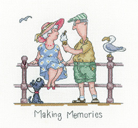 Making memories Cross stitch kit by Heritage Crafts