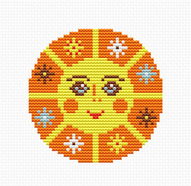 Sunshine Counted Cross Stitch Kit by Luca-S