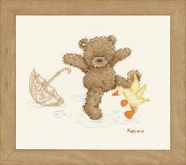 Splashing Around Cross Stitch Kit by Vervaco