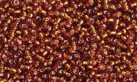Opaque Seed Beads Tiger's Eye 27g by Gutermann