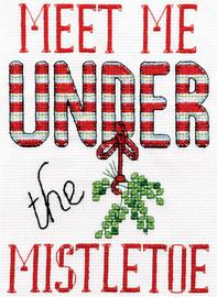 Mistletoe Christmas Cross Stitch Kit by Design Works