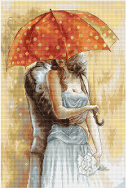 Under the Umbrella II Counted Cross Stitch Kit by Luca-S