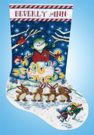 Light the Night Christmas Stocking Making Kit by Design Works