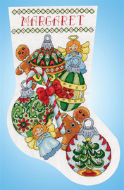 Ornaments Christmas Stocking Making Kit by Design Works