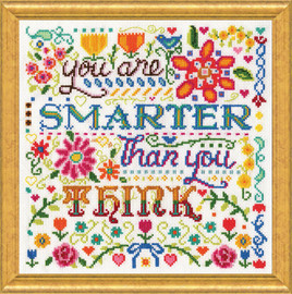 Smarter Counted Cross Stitch Kit By Design Works