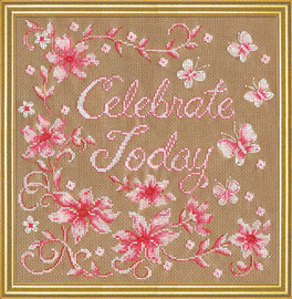Celebrate Counted Cross Stitch Kit By Design Works