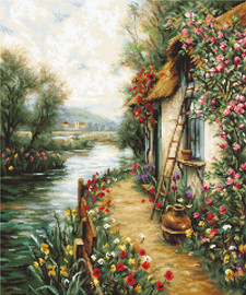 Along the River Counted Cross Stitch Kit By Luca S