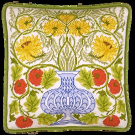 Vase Of Roses Tapestry kit by William Morris