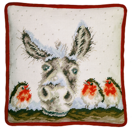 Christmas Donkey Tapestry kit by Wrendale