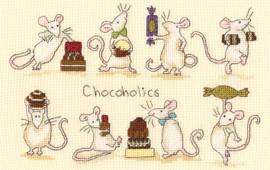 Chocoholics Cross Stitch kit by Anita Jeram