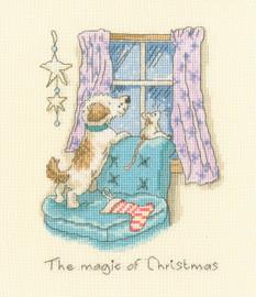The Magic of Christmas Cross Stitch kit by Anita Jeram