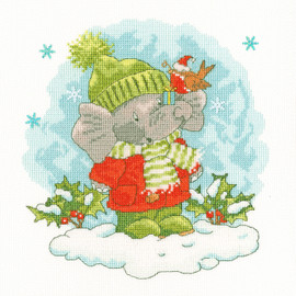 Elly's Snow Day Cross Stitch By Bothy Threads