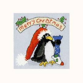 PPP Please Santa Cross Stitch Kit By Bothy Threads