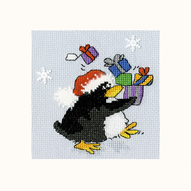 PPP Presents Cross Stitch Kit By Bothy Threads