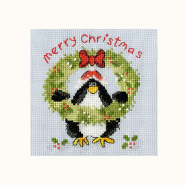 PPP Prickly Holly Cross Stitch Kit By Bothy Threads