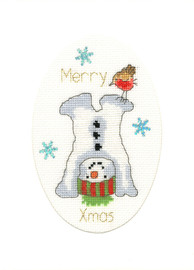 Frosty Fun Cross Stitch Kit By Bothy Threads