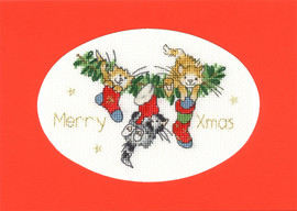 Stocking Fillers Cross Stitch Kit By Bothy Threads