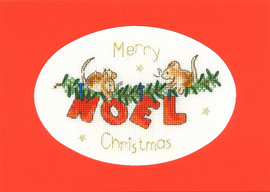 The First Noel Cross Stitch Kit By Bothy Threads