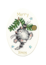 Swing Into Chirstmas Cross Stitch Kit By Bothy