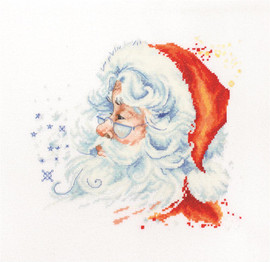 Santa Claus Counted Cross Stitch Kit By Luca S