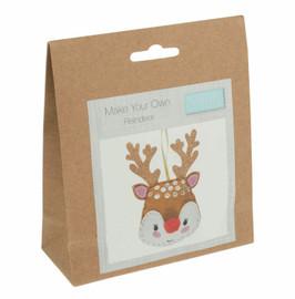 Reindeer Felt Decoration Kit by Trimits