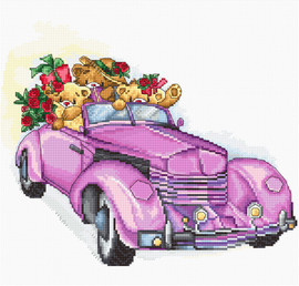 The Special Day Counted Cross Stitch Kit By Luca S