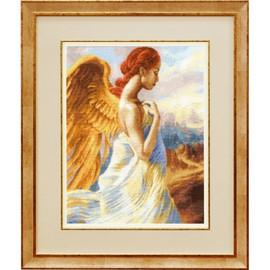 Beautiful Angel Cross Stitch Kit by Golden Fleece