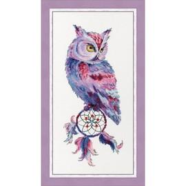 Dream Catcher Owl Cross Stitch Kit by Golden Fleece
