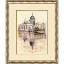 St. Petersburg Cross Stitch Kit By Golden Fleece