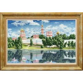 Novodevichy Convent Cross Stitch Kit By Golden Fleece
