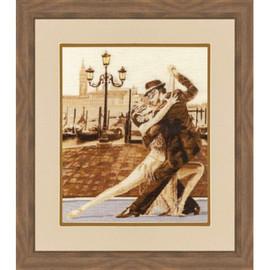 Venetian Tango Cross Stitch Kit by Golden Fleece