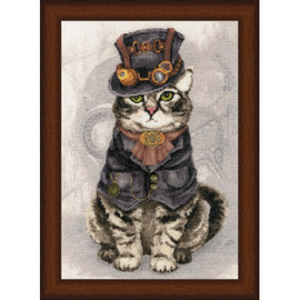 Master Of Time Cross Stitch Kit by Golden Fleece