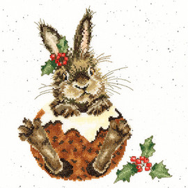 Little pudding Cross Stitch Kit By Wrendale