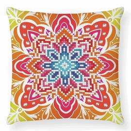 Summer Sparkle Diamond Painting Cushion Kit by Diamond Dotz