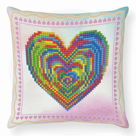 Love Rest Diamond Painting Cushion Kit by Diamond Dotz