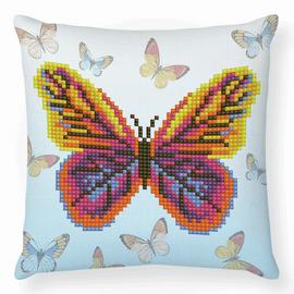 Butta Flutta Diamond Painting Mini Pillow Kit by Diamond Dotz