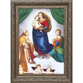 The Sistine Madonna Cross Stitch Kit By Golden Fleece
