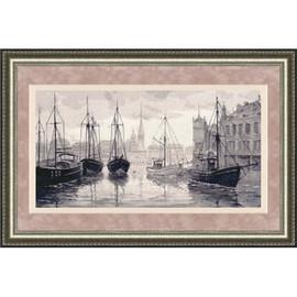 Serene Harbour Cross Stitch Kit By Golden Fleece