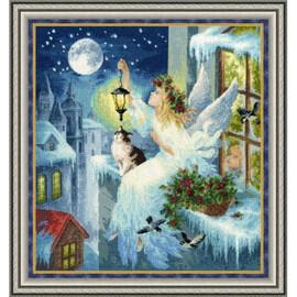 Winter Fairy Cross Stitch Kit By Golden Fleece