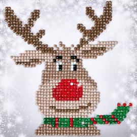 Christmas Reindeer Diamond Painting Kit By Diamond Dotz