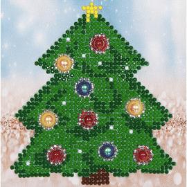 Christmas Tree Diamond Painting Kit By Diamond Dotz