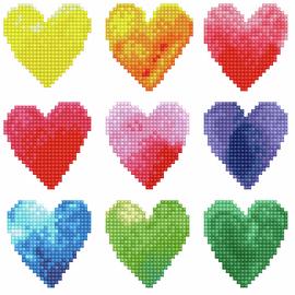Love Rainbow Diamond Painting Kit By Diamond Dotz