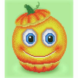 Sweet Pumpkin Diamond Painting Kit By Diamond Dotz
