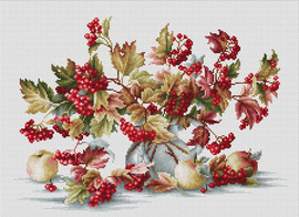 Guelder Rose Counted Cross Stitch Kit