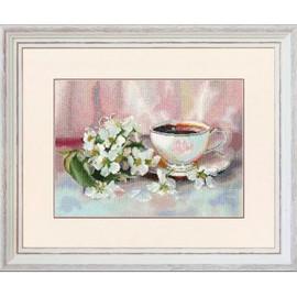 Aromatic Tea Cross Stitch Kit By Golden Fleece