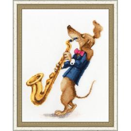 Jazz-z-z-z Cross Stitch Kit By Golden Fleece