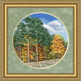 Autumn Forest Cross Stitch Kit By Golden Fleece